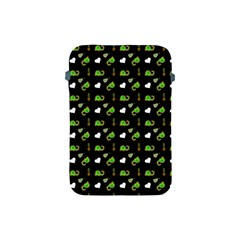 Green Elephant Pattern Apple Ipad Mini Protective Soft Cases