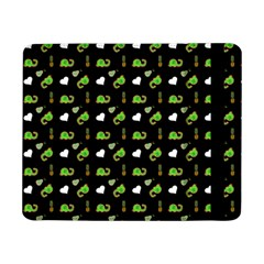 Green Elephant Pattern Samsung Galaxy Tab Pro 8 4  Flip Case by snowwhitegirl