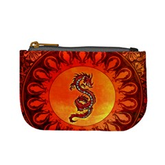 Wonderful Chinese Dragon Mini Coin Purse by FantasyWorld7