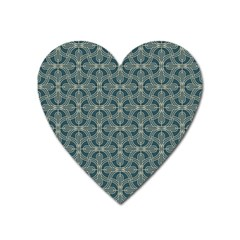 Pattern1 Heart Magnet by Sobalvarro