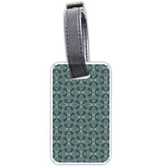 Pattern1 Luggage Tag (one Side) by Sobalvarro