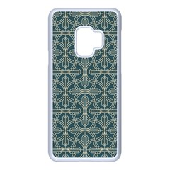 Pattern1 Samsung Galaxy S9 Seamless Case(white) by Sobalvarro