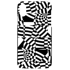 Black And White Crazy Pattern Iphone Xr Black Uv Print Case by Sobalvarro