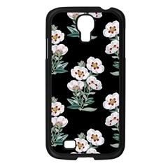 Floral Vintage Wallpaper Pattern 1516863120hfa Samsung Galaxy S4 I9500/ I9505 Case (black)