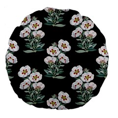 Floral Vintage Wallpaper Pattern 1516863120hfa Large 18  Premium Flano Round Cushions