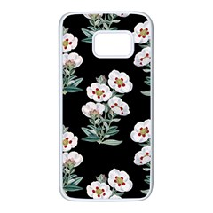 Floral Vintage Wallpaper Pattern 1516863120hfa Samsung Galaxy S7 White Seamless Case