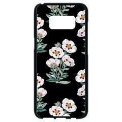 Floral Vintage Wallpaper Pattern 1516863120hfa Samsung Galaxy S8 Black Seamless Case