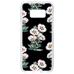 Floral Vintage Wallpaper Pattern 1516863120hfa Samsung Galaxy S8 White Seamless Case
