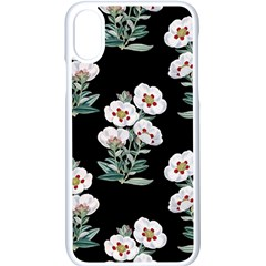 Floral Vintage Wallpaper Pattern 1516863120hfa Iphone X Seamless Case (white)