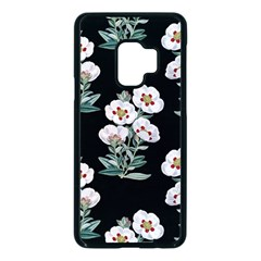 Floral Vintage Wallpaper Pattern 1516863120hfa Samsung Galaxy S9 Seamless Case(black)