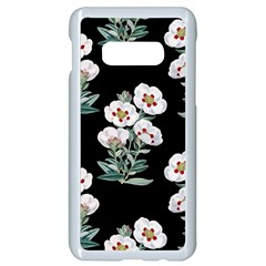 Floral Vintage Wallpaper Pattern 1516863120hfa Samsung Galaxy S10e Seamless Case (white)