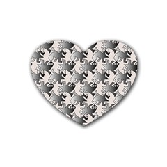 Seamless 3166142 Heart Coaster (4 Pack)