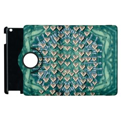 Heavy Metal Hearts And Belive In Sweet Love Apple Ipad 2 Flip 360 Case by pepitasart
