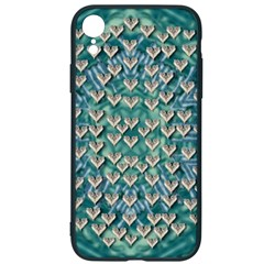 Heavy Metal Hearts And Belive In Sweet Love Iphone Xr Soft Bumper Uv Case by pepitasart