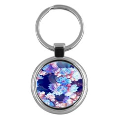 Flowers Key Chain (round)