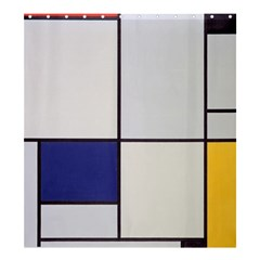 Tableau I, By Piet Mondriaan Shower Curtain 66  X 72  (large)  by Sobalvarro