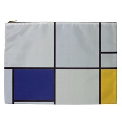 Tableau I, By Piet Mondriaan Cosmetic Bag (xxl) by Sobalvarro