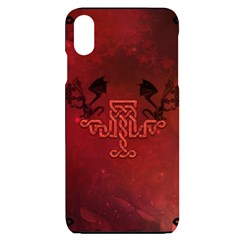 Decorative Celtic Knot With Dragon Iphone Xs Max by FantasyWorld7