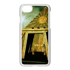 Awesome Steampunk Pyramid In The Night Iphone 8 Seamless Case (white) by FantasyWorld7