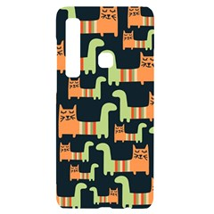 Seamless Pattern With Cats Samsung A9 Black Uv Print Case by Vaneshart
