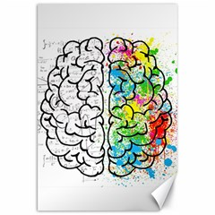 Brain Mind Psychology Idea Drawing Canvas 20  X 30