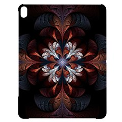 Fractal Flower Fantasy Floral Apple Ipad Pro 12 9   Black Uv Print Case by Wegoenart