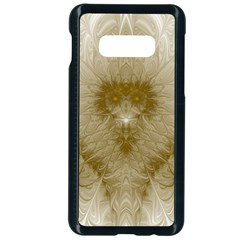 Fractal Abstract Pattern Background Samsung Galaxy S10e Seamless Case (black)