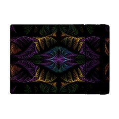 Fractal Abstract Background Pattern Art Apple Ipad Mini Flip Case by Wegoenart