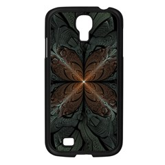 Art Abstract Fractal Pattern Samsung Galaxy S4 I9500/ I9505 Case (black) by Wegoenart