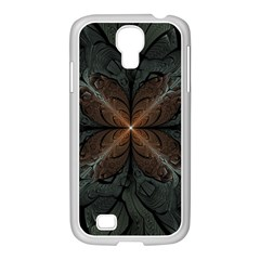 Art Abstract Fractal Pattern Samsung Galaxy S4 I9500/ I9505 Case (white) by Wegoenart