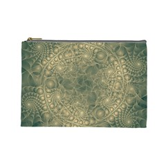 Fractal Abstract Background Pattern Cosmetic Bag (large) by Wegoenart