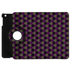 Wallpaper Floral Pattern Purple Apple Ipad Mini Flip 360 Case by Wegoenart