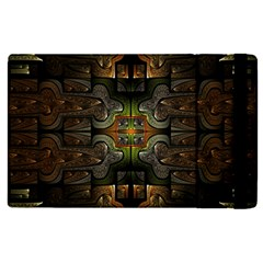 Fractal Fantasy Mystic Design Apple Ipad Mini 4 Flip Case by Wegoenart
