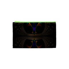 Fractal Abstract Background Pattern Cosmetic Bag (xs) by Wegoenart