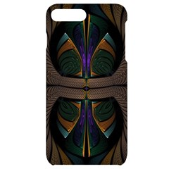Fractal Abstract Background Pattern Iphone 7/8 Plus Black Uv Print Case