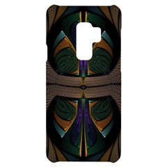 Fractal Abstract Background Pattern Samsung S9 Plus Black Uv Print Case