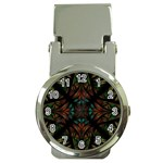 Fractal Fantasy Design Texture Money Clip Watches Front