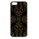 Fractal Fantasy Design Texture Apple Seamless iPhone 5 Case (Clear) Front
