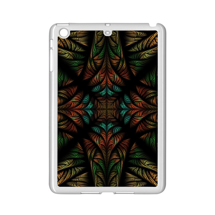 Fractal Fantasy Design Texture iPad Mini 2 Enamel Coated Cases