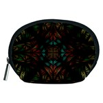 Fractal Fantasy Design Texture Accessory Pouch (Medium) Front