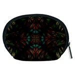 Fractal Fantasy Design Texture Accessory Pouch (Medium) Back