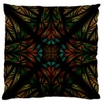 Fractal Fantasy Design Texture Large Flano Cushion Case (One Side) Front