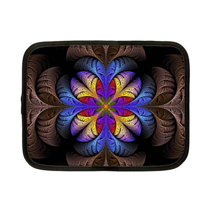 Fractal Flower Fantasy Floral Netbook Case (Small)