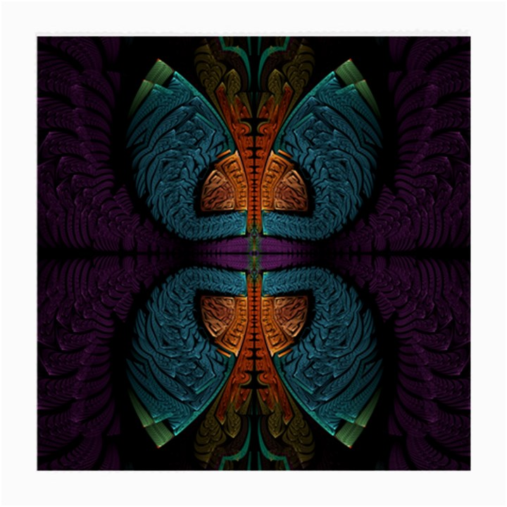 Art Abstract Fractal Pattern Medium Glasses Cloth (2 Sides)