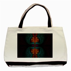 Art Abstract Fractal Pattern Basic Tote Bag (two Sides)