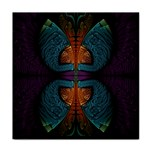 Art Abstract Fractal Pattern Face Towel Front