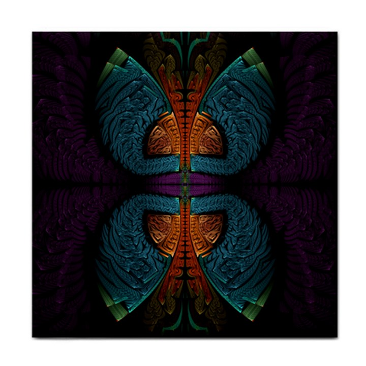 Art Abstract Fractal Pattern Face Towel