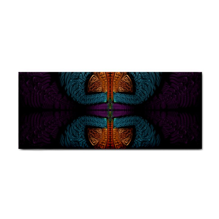 Art Abstract Fractal Pattern Hand Towel