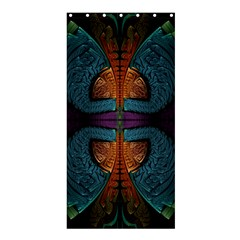 Art Abstract Fractal Pattern Shower Curtain 36  X 72  (stall)