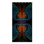 Art Abstract Fractal Pattern Shower Curtain 36  x 72  (Stall)  33.26 x66.24  Curtain